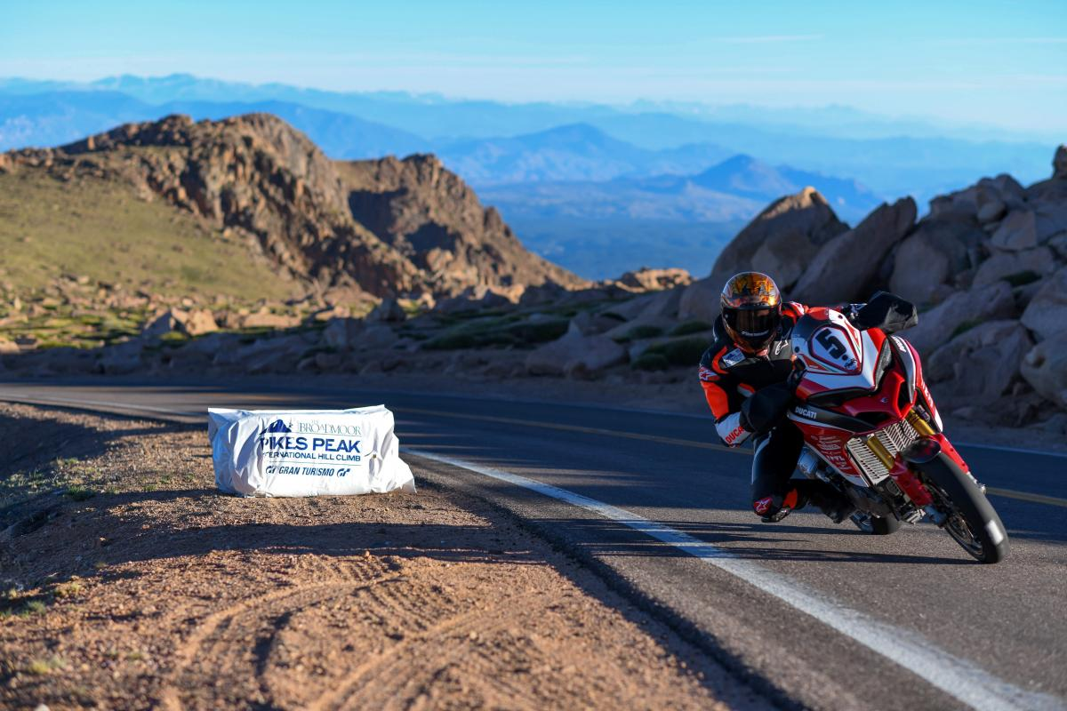 Ducati re-take Pikes Peak hillclimb title