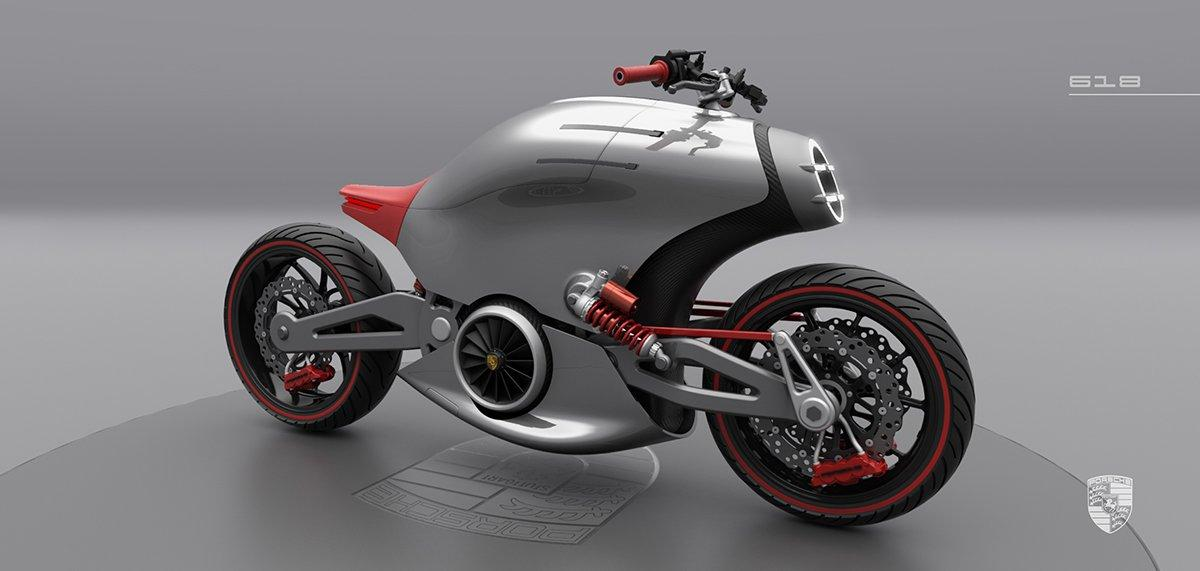 The 'Porsche' motorcycle concept