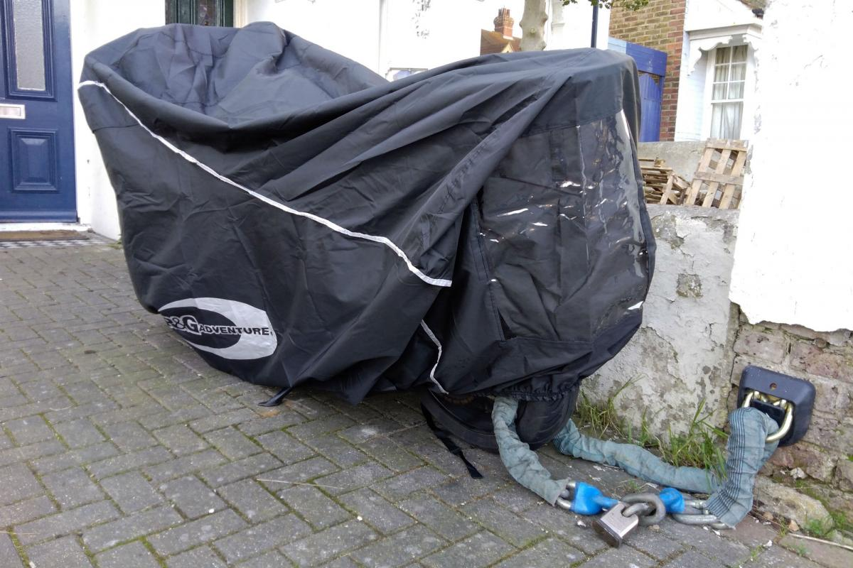 First impressions: R&G Adventure Bike Outdoor Cover review