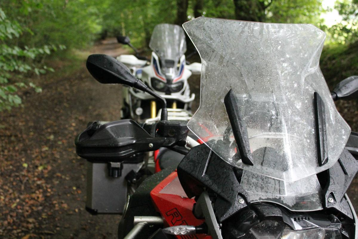 Back-to-back test: BMW R1200GS Adventure vs Honda Africa Twin review