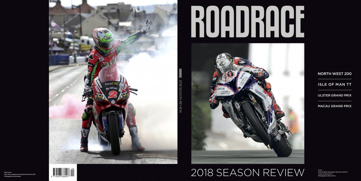Roadracing annual cover