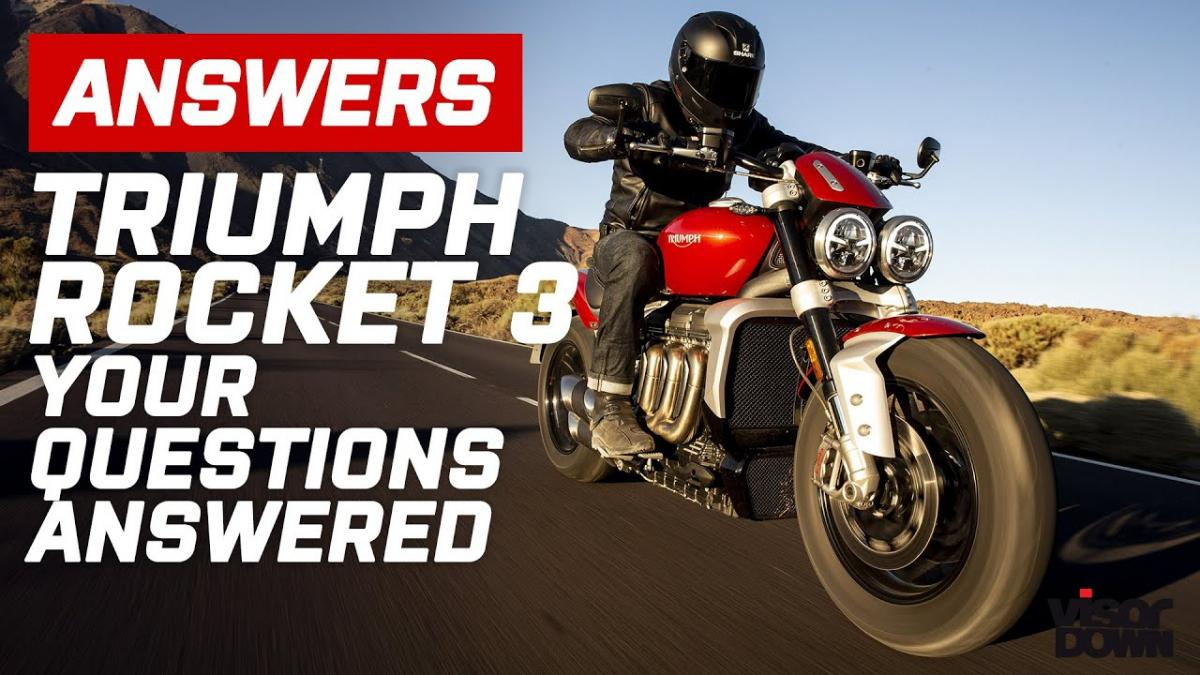 Triumph Rocket 3 – your questions answered