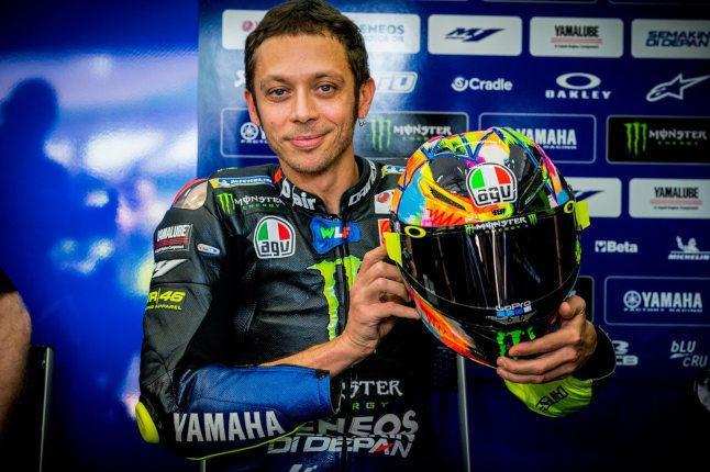 Rossi Sepang winter test lid 2019