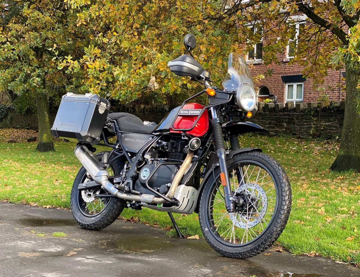 Royal Enfield Adventure Edition