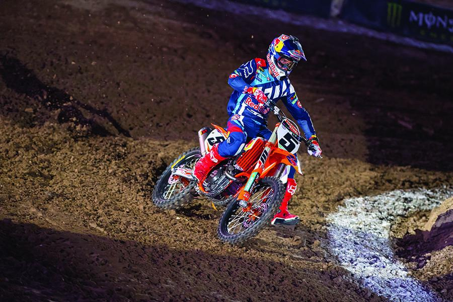 """We have a lot of work to do"" admits Ryan Dungey after Monster Energy Cup"