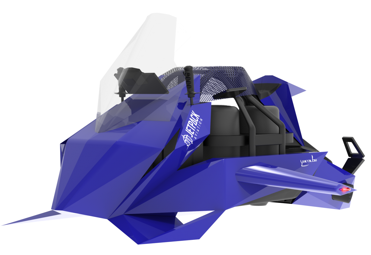 JetPack Aviation introduce the Speeder