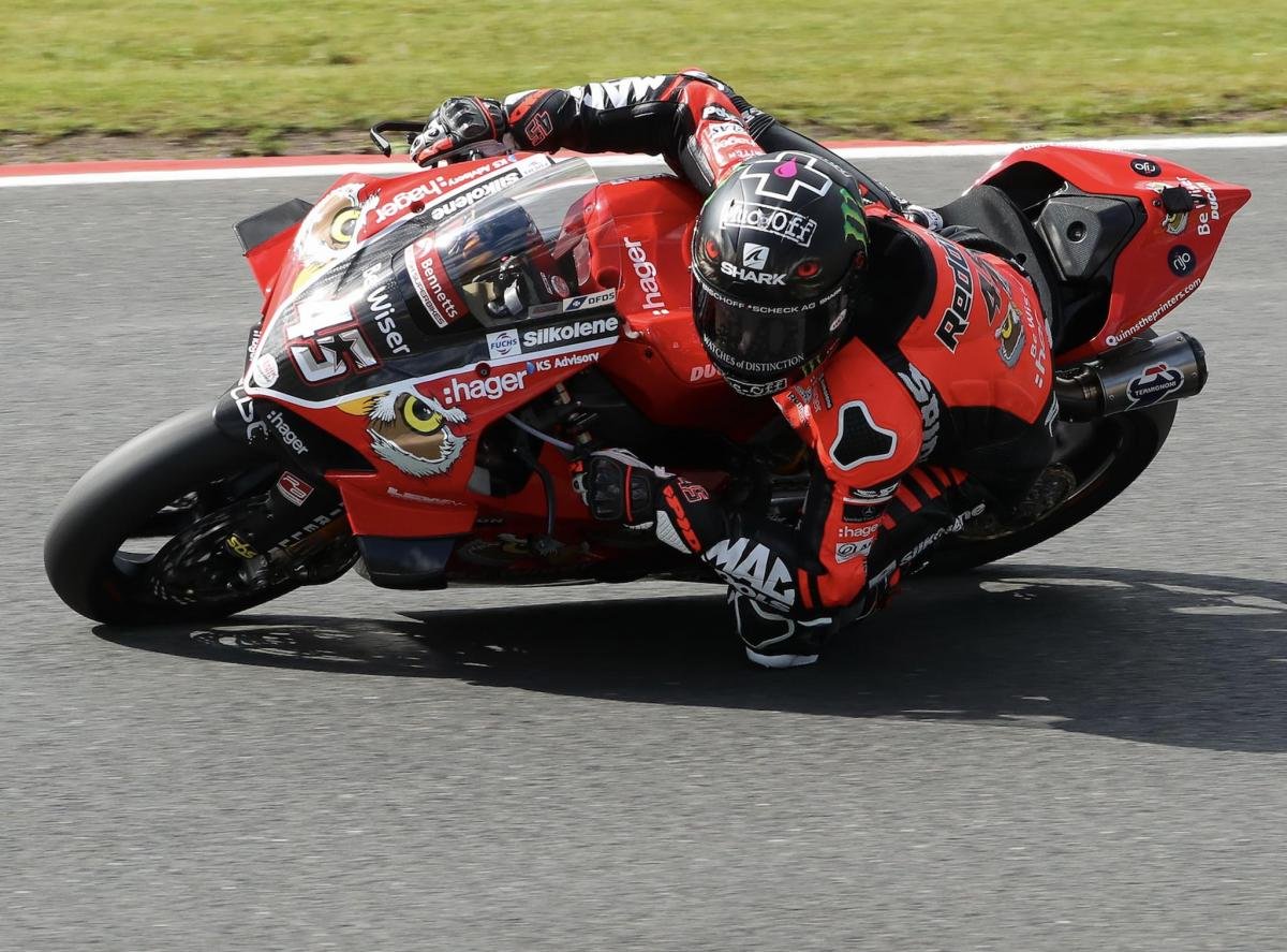 Redding warms up quickest at Knockhill