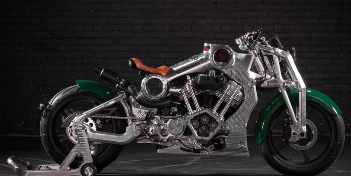 Curtiss Motorcycles unveils first bike in 100 years