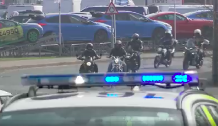 Bikers and police unite to fight motorcycle crime