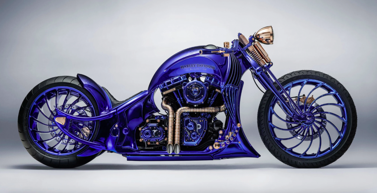 Is this diamond-encrusted Harley-Davidson the world's most expensive motorcycle?