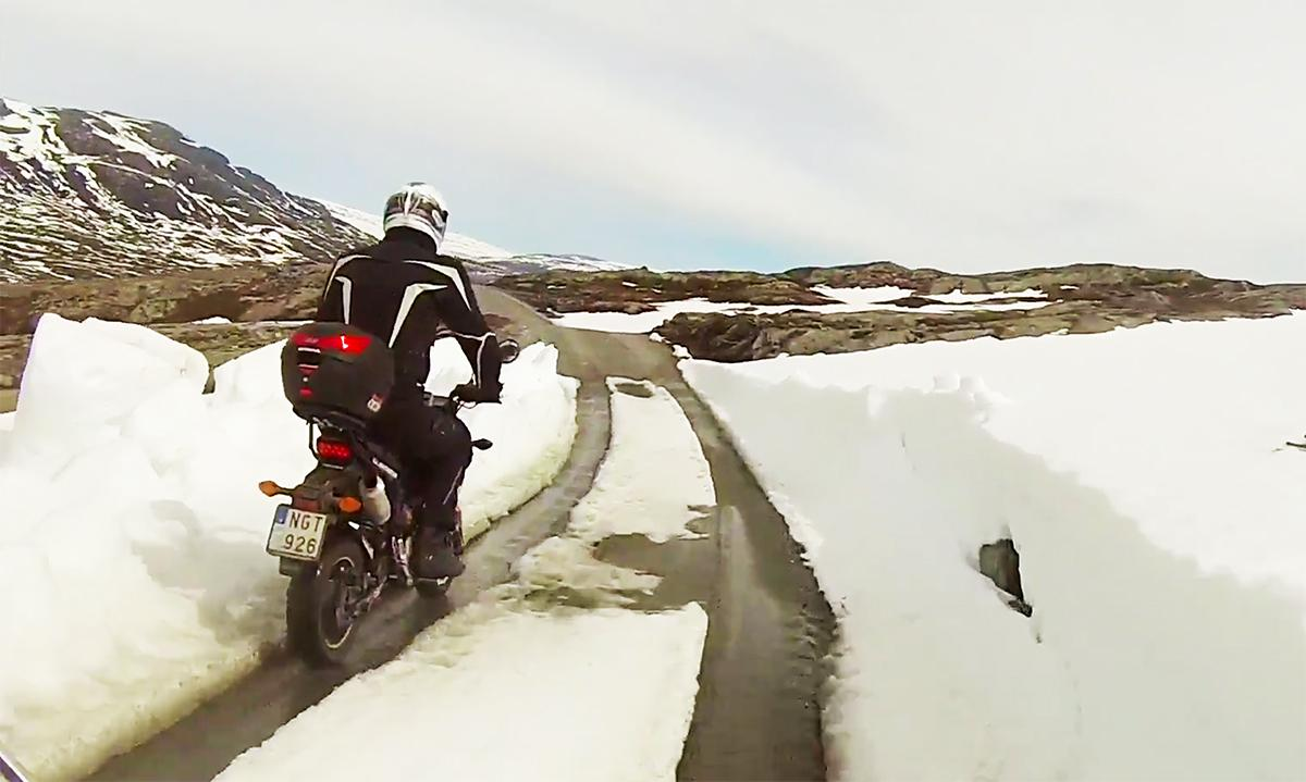 2000 Scandinavian miles on a 9bhp Honda Grom