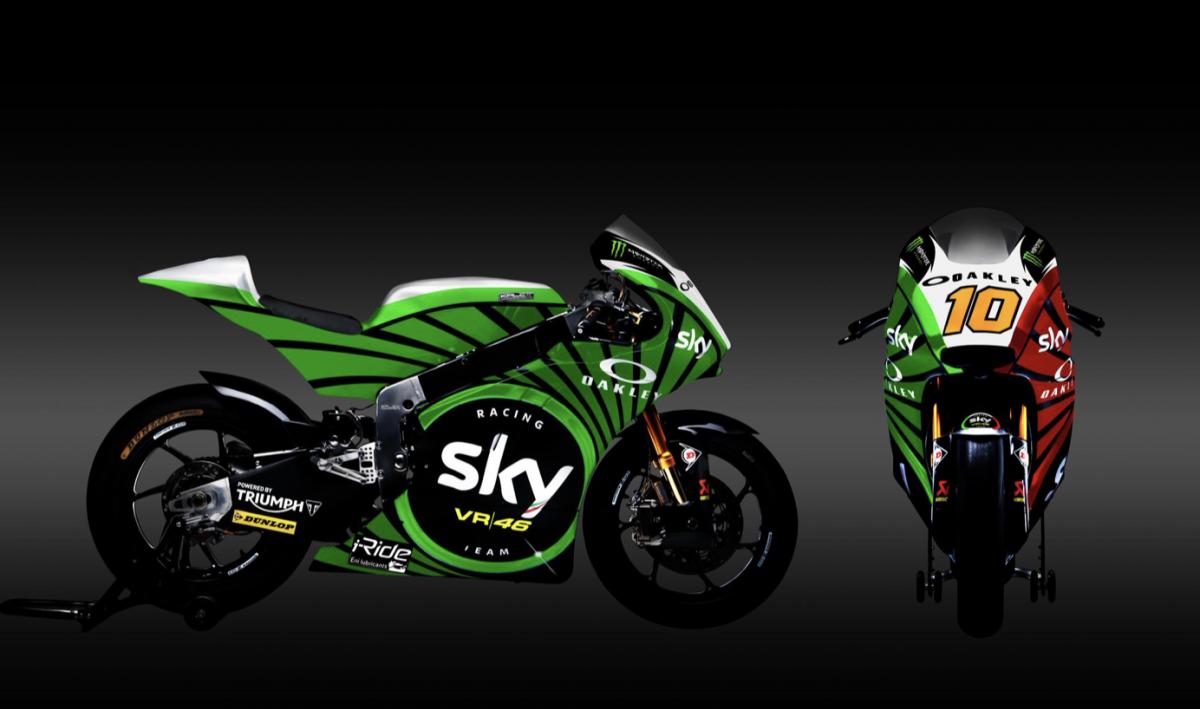 VR46 Moto2 team Luca Marini