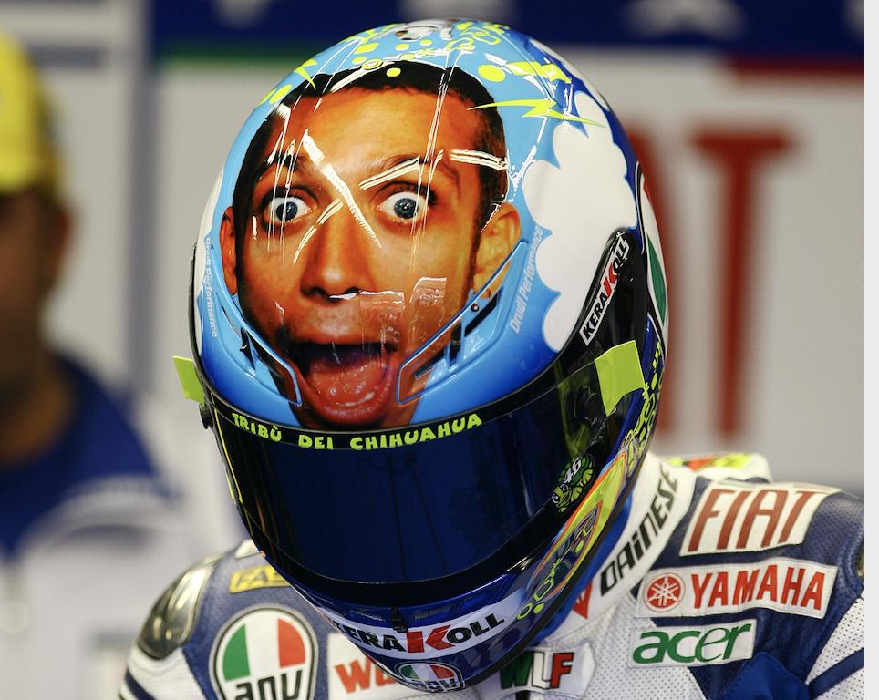 Valentino Rossi helmet, Mugello 2008