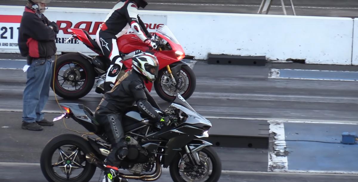 Kawasaki Ninja H2 vs Ducati Panigale V4S