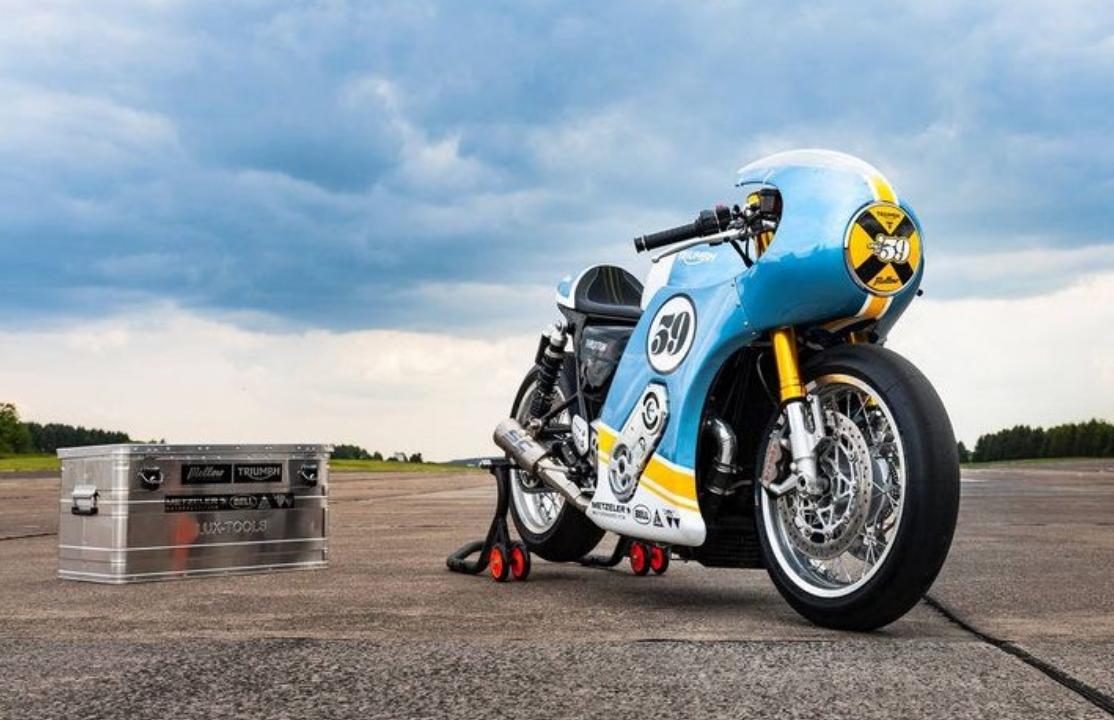 9e3151a6cce5 Stunning Supercharged Triumph Thruxton R | Visordown