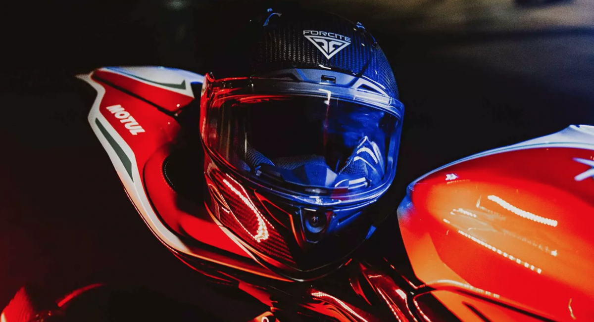 Forcite launches its MK1 smart motorcycle helmet
