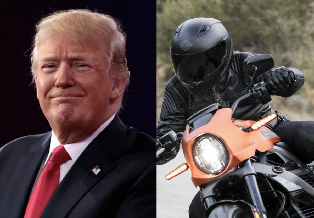 Trump's tariff war takes a swipe at Harley-Davidson sales, profits