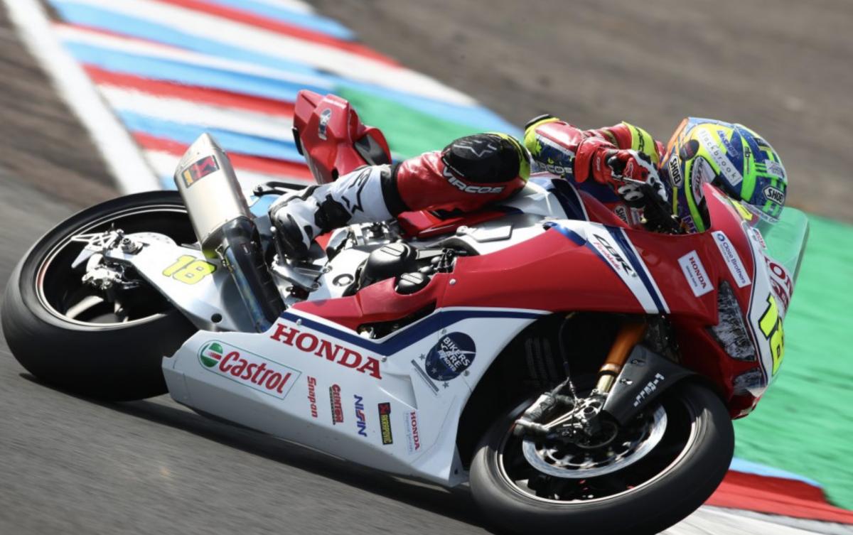 Andrew Irwin - Honda Racing