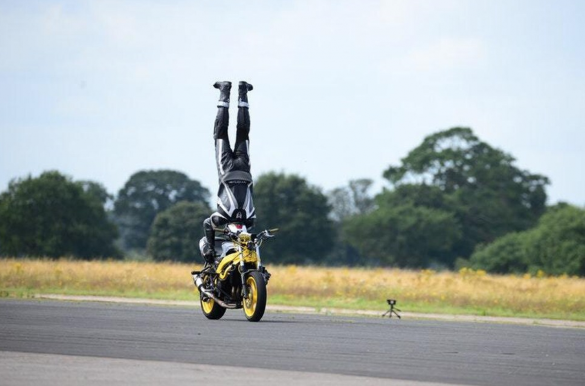 Marco George stunt rider
