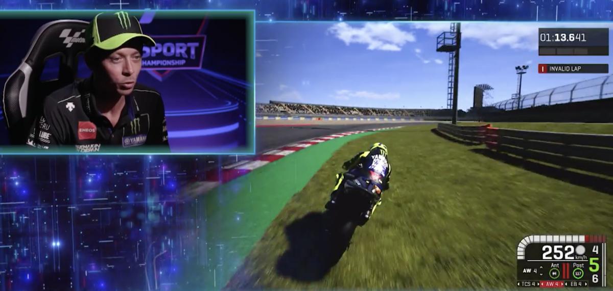 Valentino Rossi MotoGP game