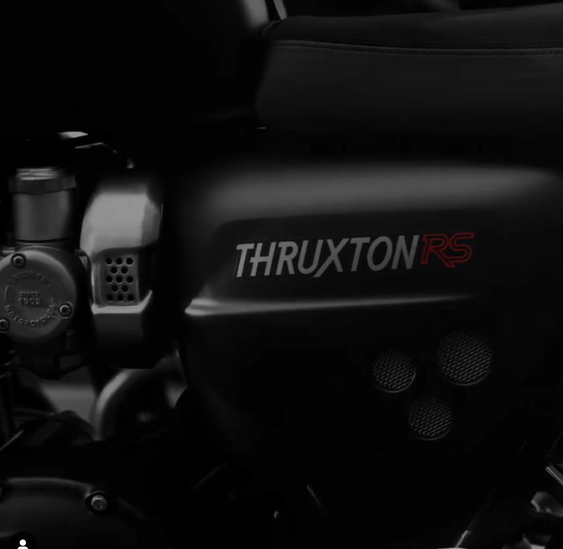 New Triumph Thruxton RS