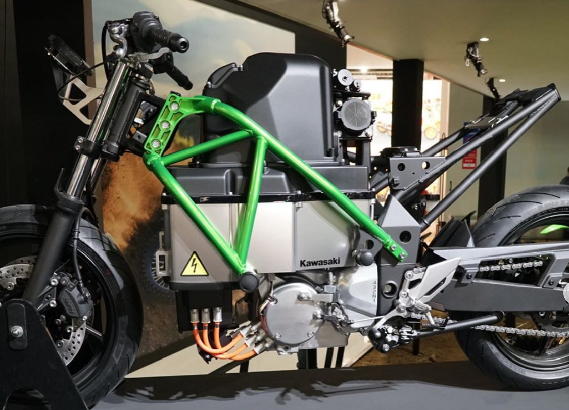Kawasaki's electric motorcycle prototype
