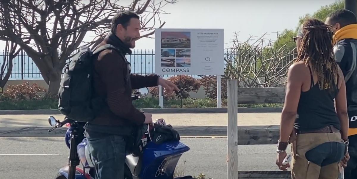 Keanu Reeves Arch Motorcycles