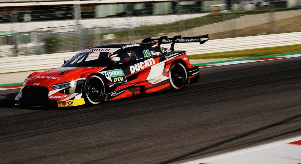 Dovizioso only 1.2secs off fastest lap on DTM race debut