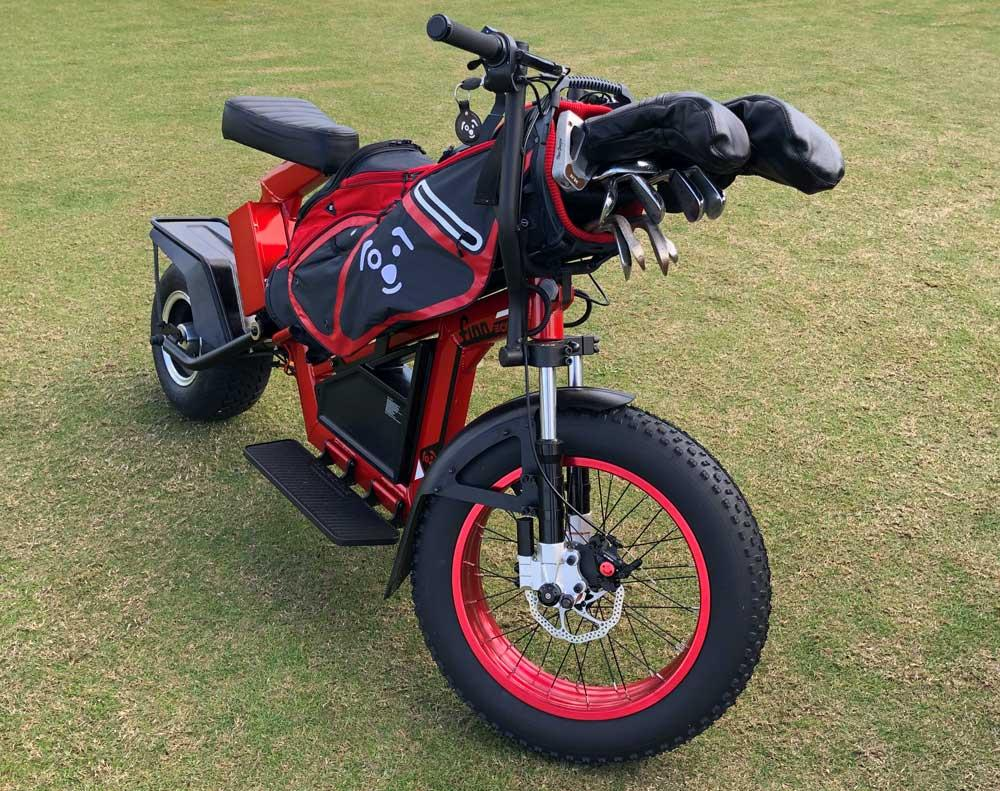 Golfing brand launches pair of electric motorcycles | Visordown