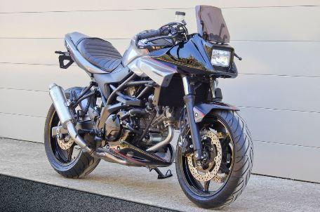 WeBike announce Katana kit for the Suzuki SV650