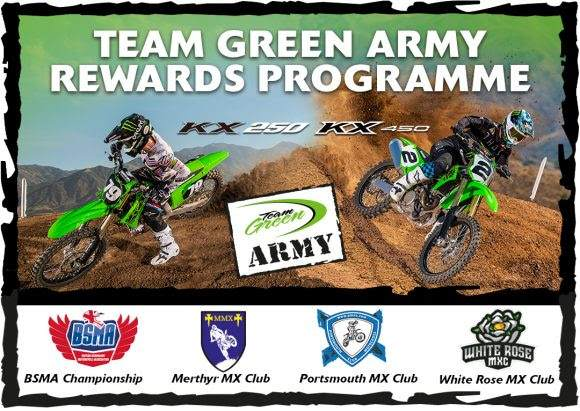 Team Green rider rewards programme