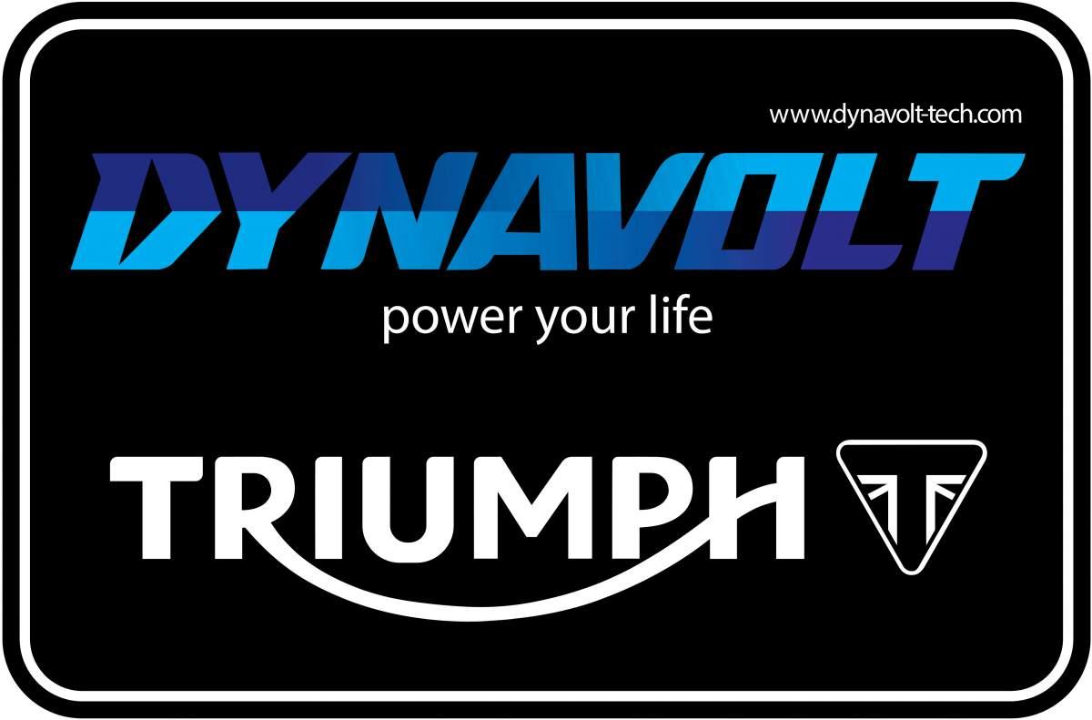 Triumph Dynavolt logo