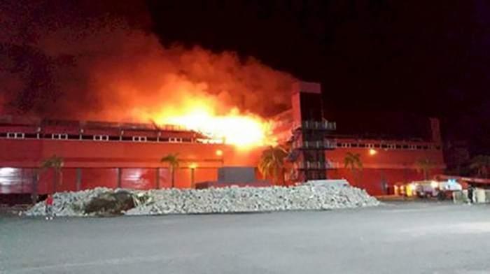 Terma Del Rio Hondo fire