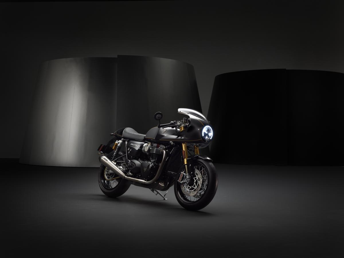 Triumph release new pictures and full Thruxton TFC spec   Visordown