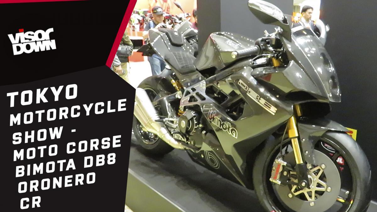 Tokyo Motorcycle Show – Bimota DB8 Oronero CR