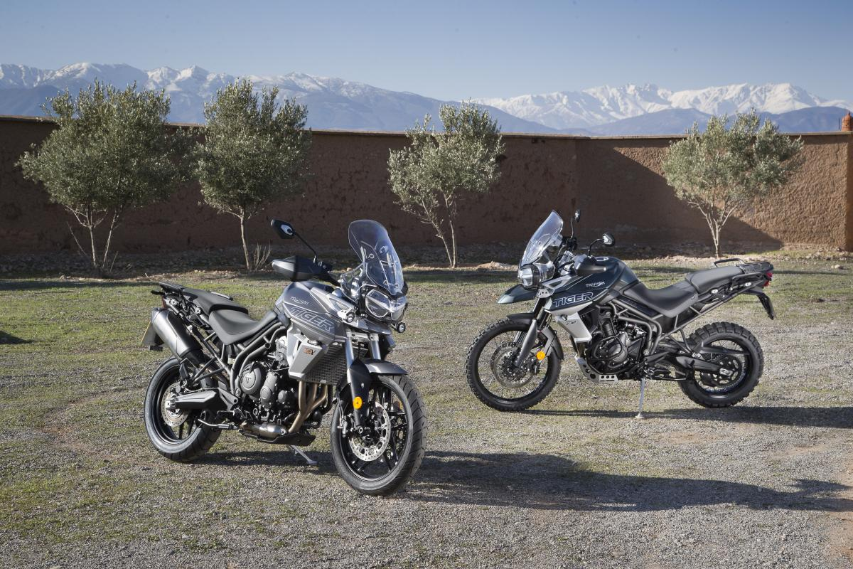 First Ride Triumph Tiger 800 Review Page 2 Visordown