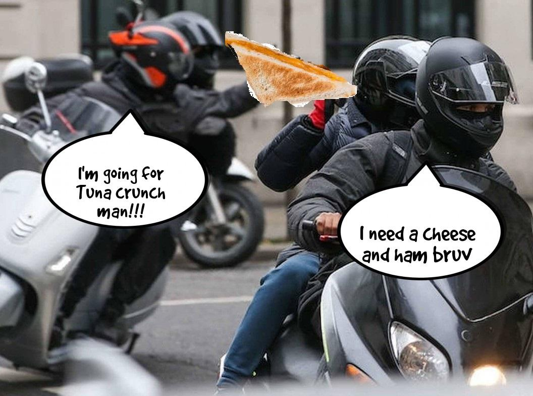 Cheese toasties are the new gateway to violent crime