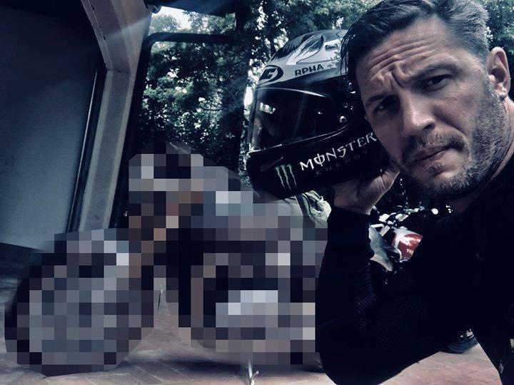 What motorcycle does Tom Hardy ride?