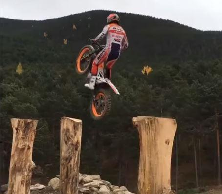 Proof that Toni Bou is not of this earth