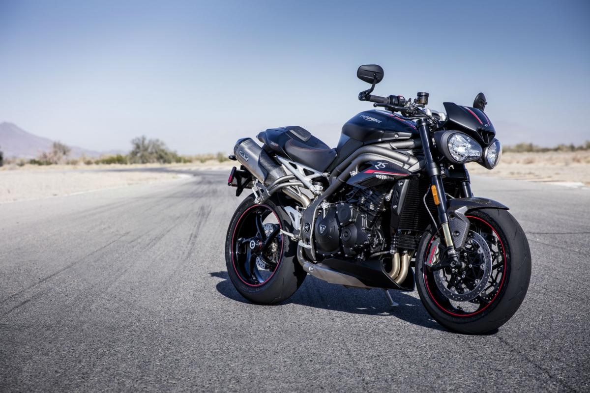 Triumph Speed Triple RS review: first thoughts