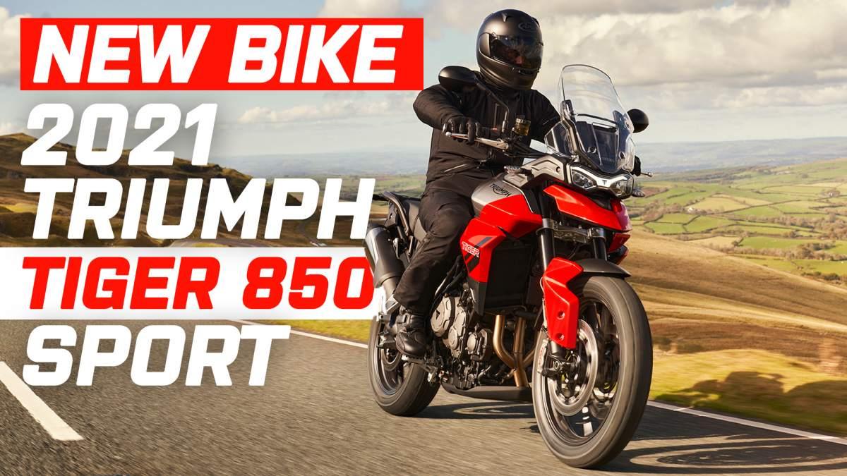 Triumph tiger 850 sport revealed