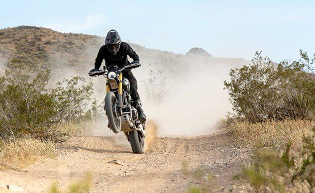 Triumph finish 5th place in desert race