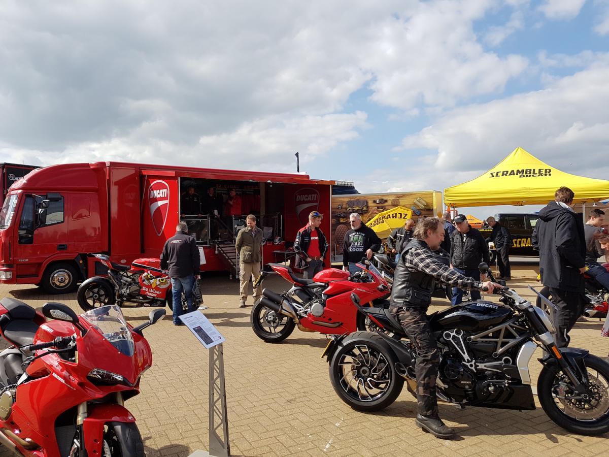 Ducati roadshow truck