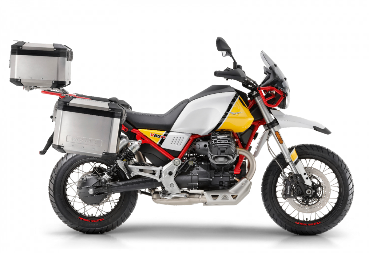 Moto Guzzi V85 TT specs, tech and video