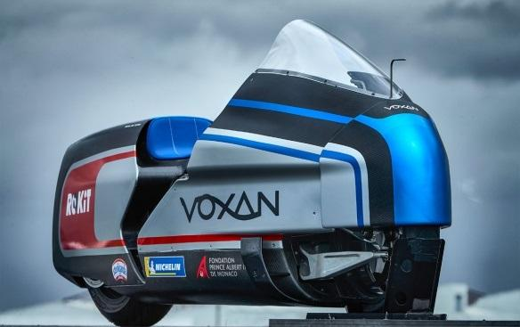 Max Biaggi aiming for 200mph on 367bhp Voxan streamlined motorcycle