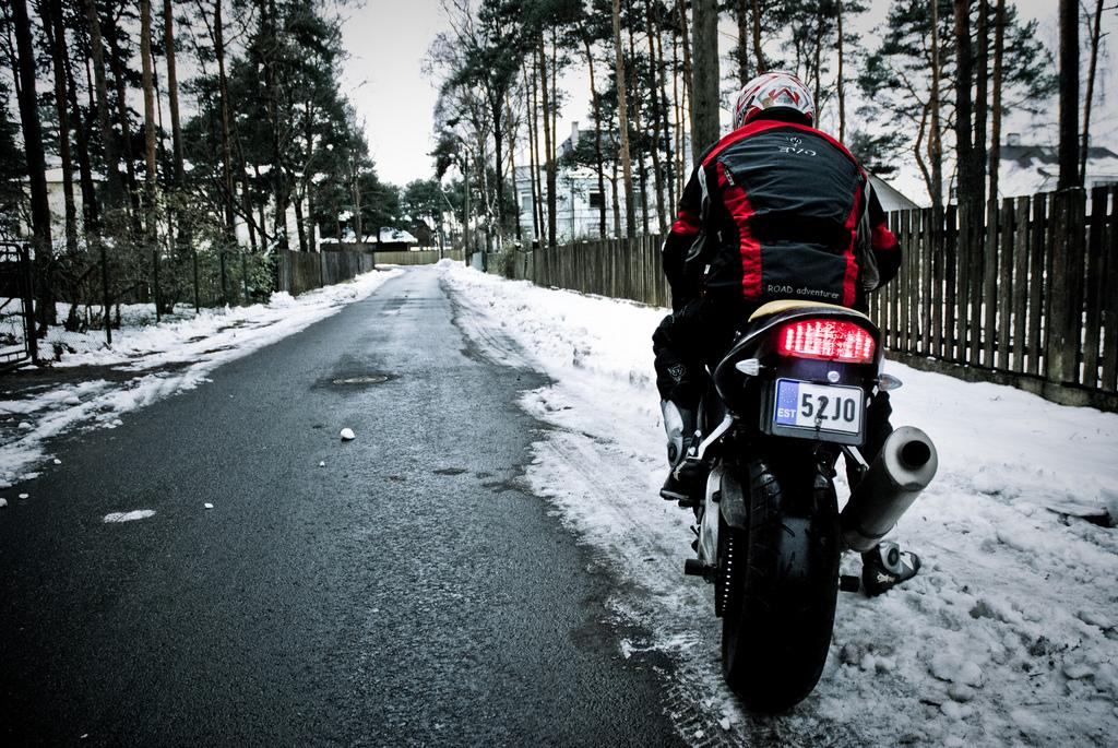 How to… store your motorcycle in winter