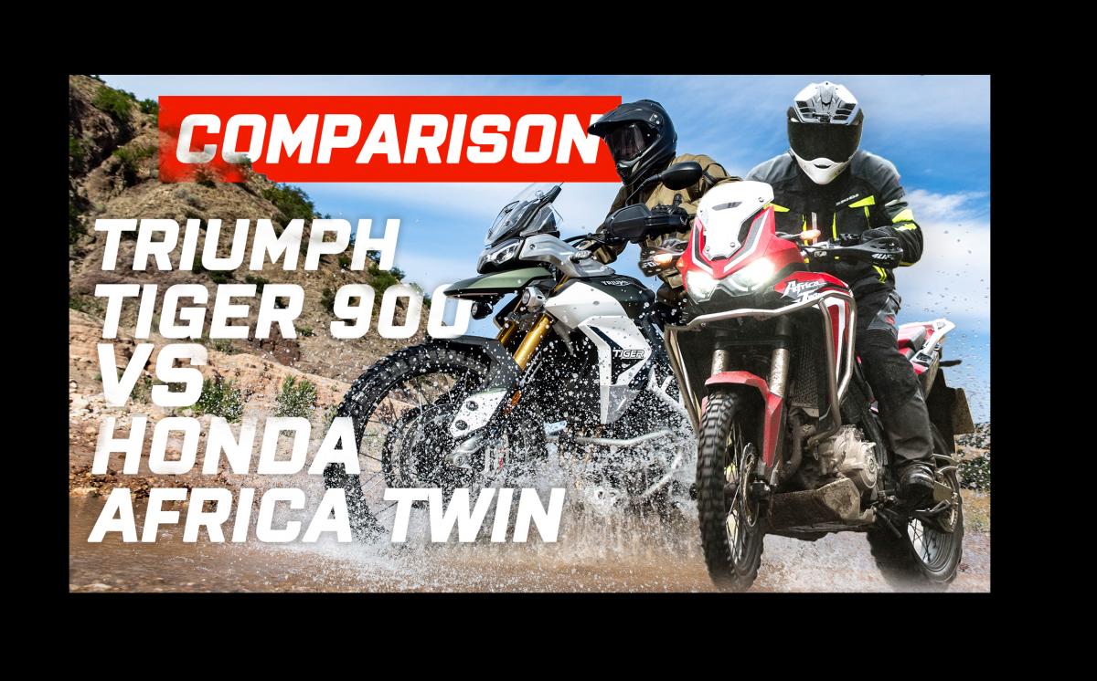 Head to head: Honda Africa Twin Vs Triumph Tiger 900 Rally Pro
