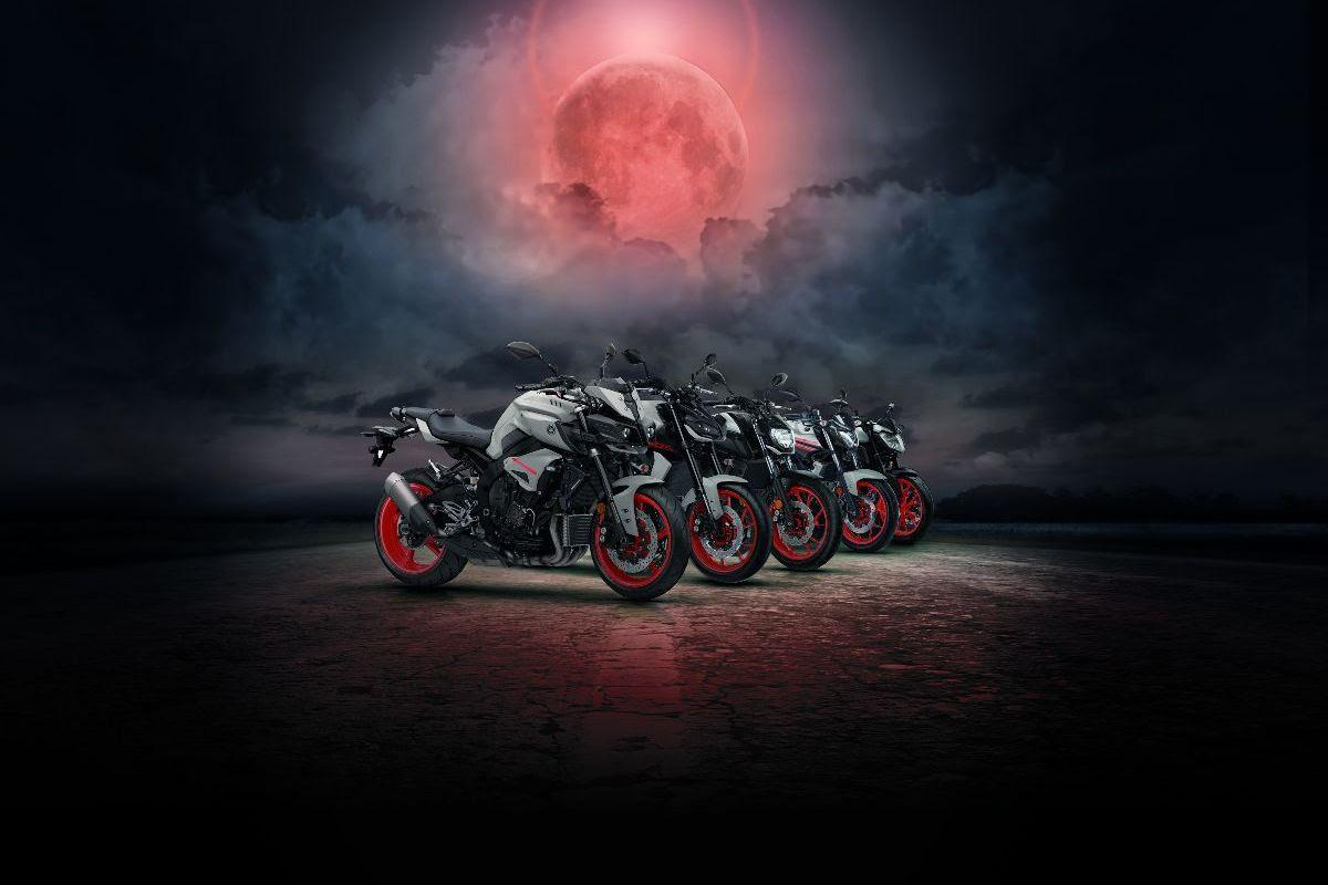 Test ride the latest MT range and win with Yamaha this April