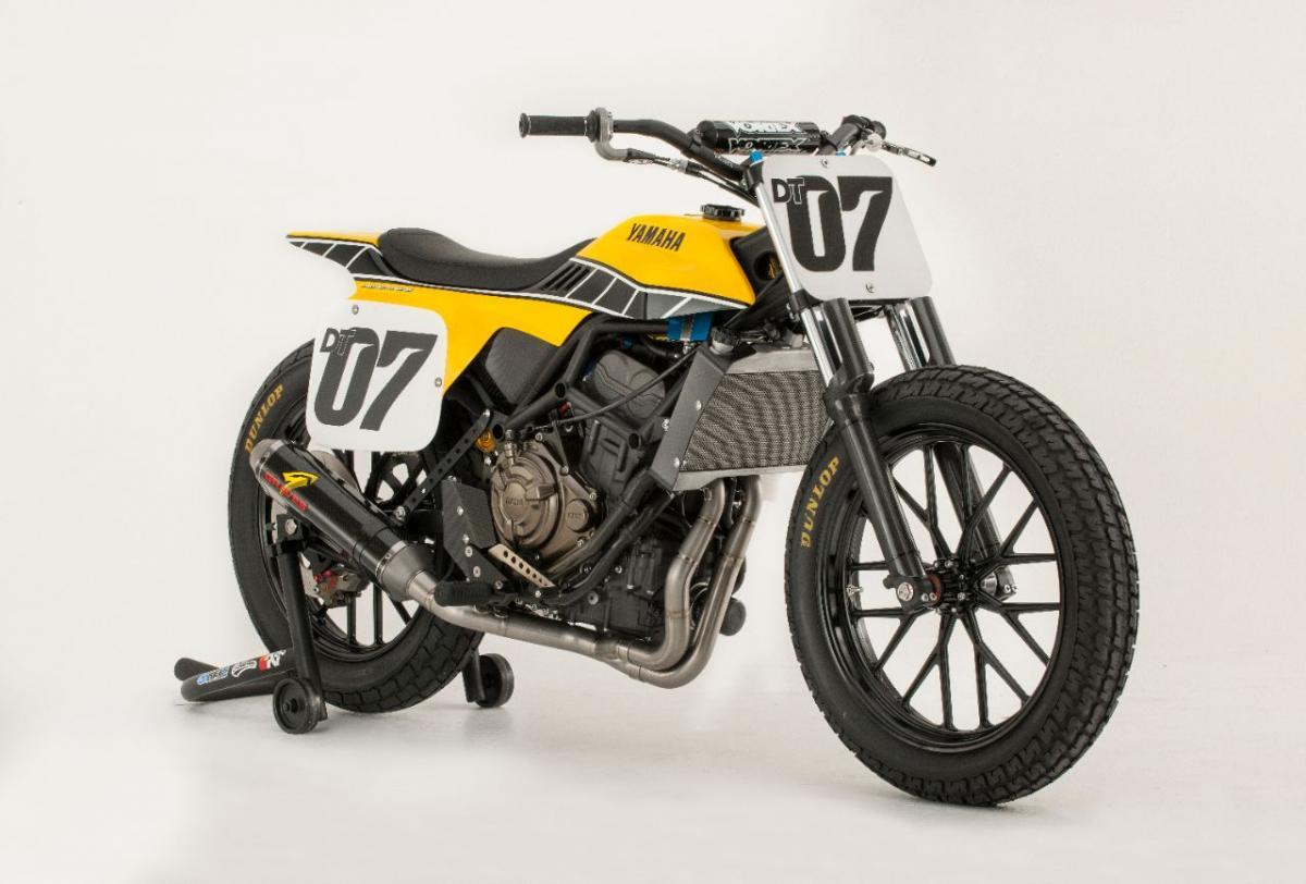Yamaha MT-07 powered flat-tracker ends 30-year winning drought
