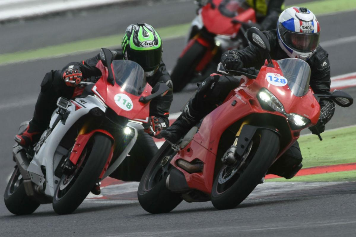 Five essential tips for your first time in a track day fast group